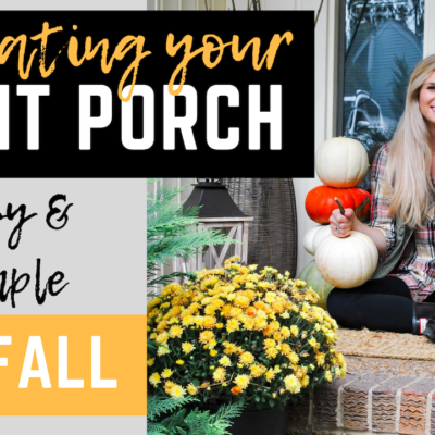 Fall Front Porch Decor: Styling Tips