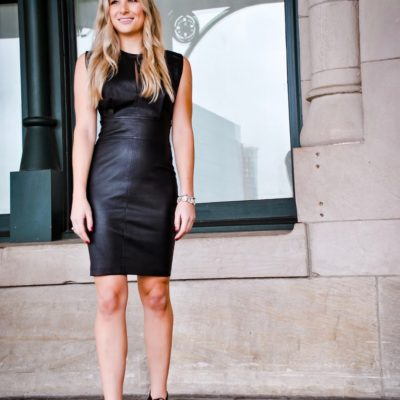 Leather Dresses for NYE or Winter Special Occasions