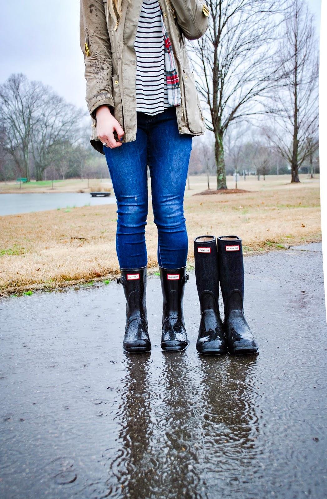 enjoy cheap price cute top quality Hunter Boots Debate: Short or Tall? Anna-Danigelis Anna ...