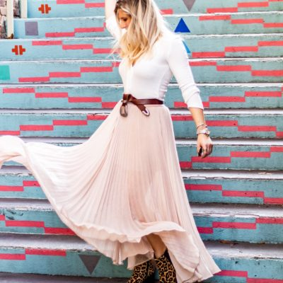 6 Reasons Why you Need a Pleated Maxi Skirt