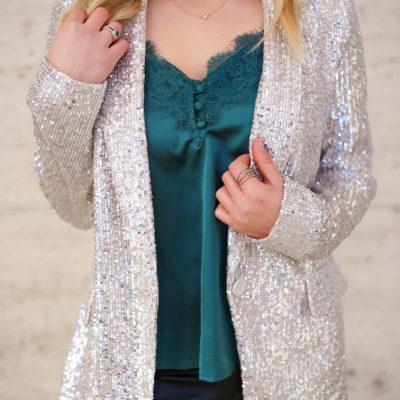 How to Wear Sequins this NYE that's not just a Dress