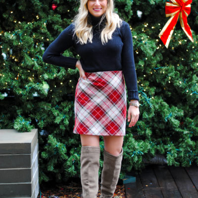 Christmas Plaid Outfit Ideas
