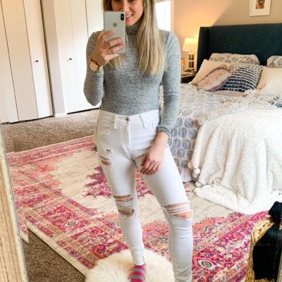How to Distress Denim Jeans DIY tutorial