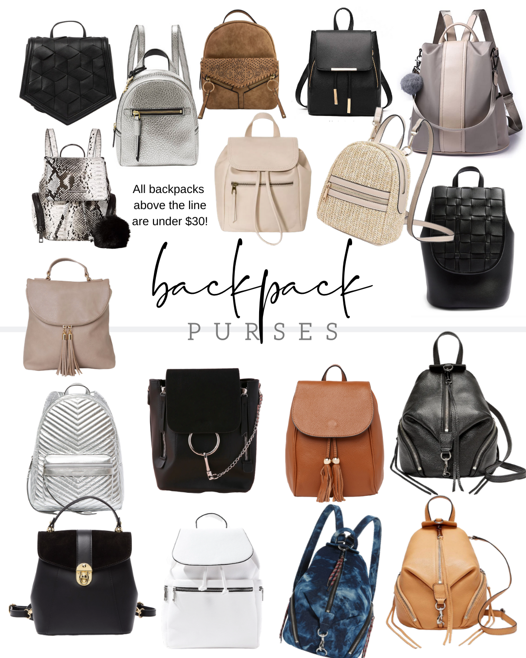 Backpack mini purses rebecca minkoff