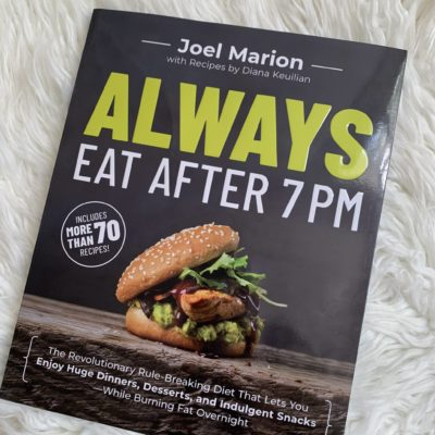 Final Thoughts on Always Eat After 7 PM: Week 4