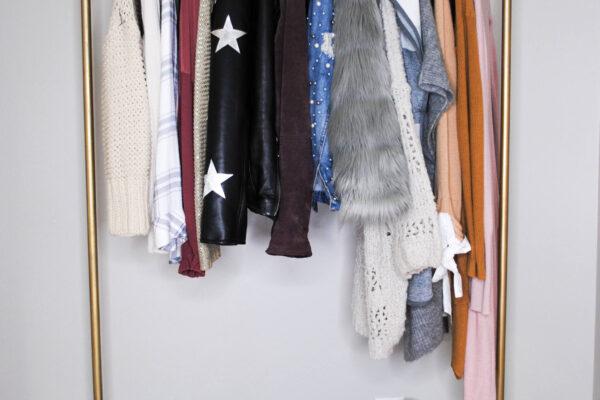 DIY Garment Rack Under $100